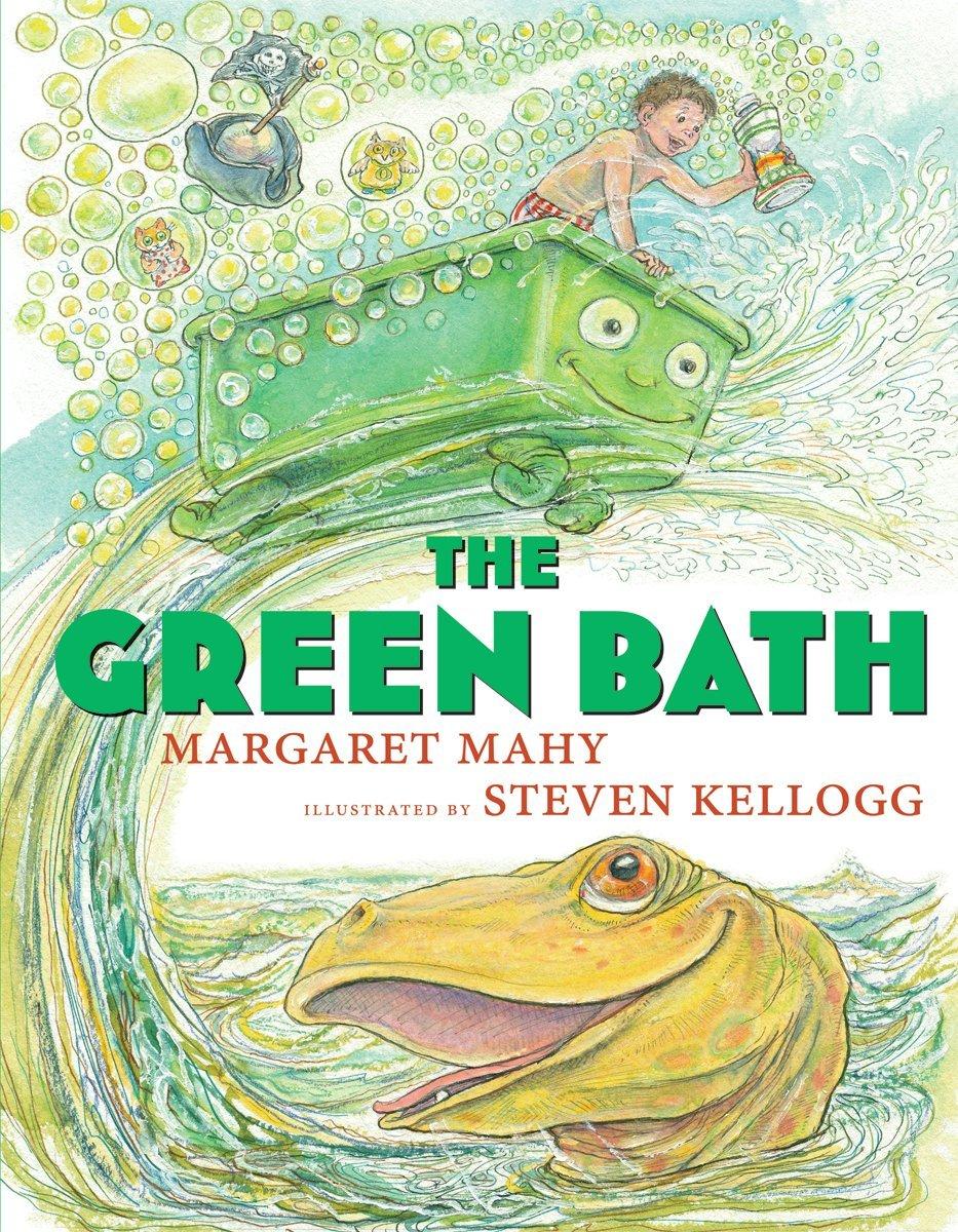 The Green Bath: Margaret Mahy, Steven Kellogg: 9780545206679: Amazon:  Books