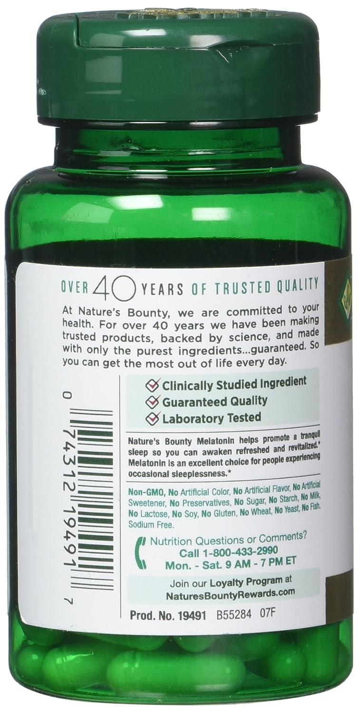 Natures Bounty Melatonin 10 mg