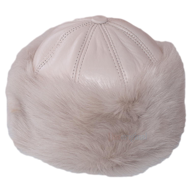 Dazoriginal Cappello Russo Colbacco Donna Ushanka Pelle Pelliccia Berretto DONNA