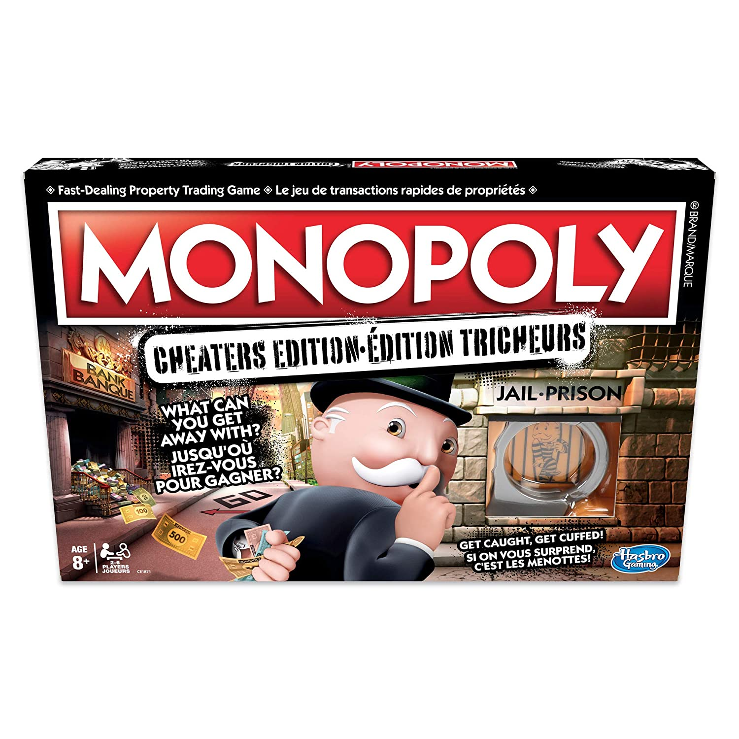 Image result for monopoly cheater