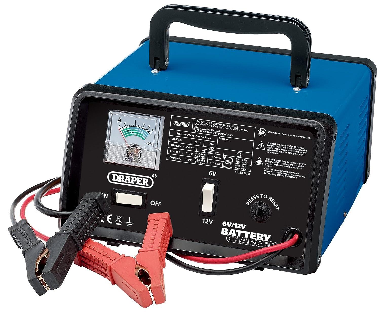 Draper 20486 Battery Charger 12 V 4.2 A Draper Tools BCD5