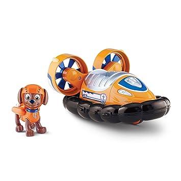 Amazon Com Paw Patrol Zuma S Hovercraft Vehicle And Figure Toys