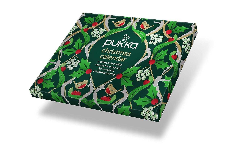 Pukka Herbal Tea Advent Calendar Christmas Selection Amazon Co Uk