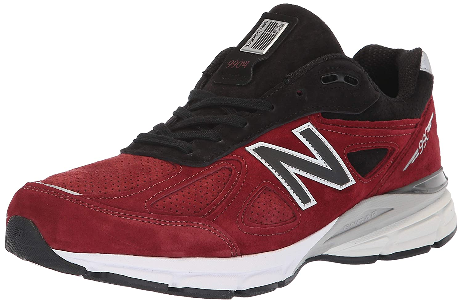 size 40 180fa f0417 New Balance Men's 990v4, Red, 9.5 D US
