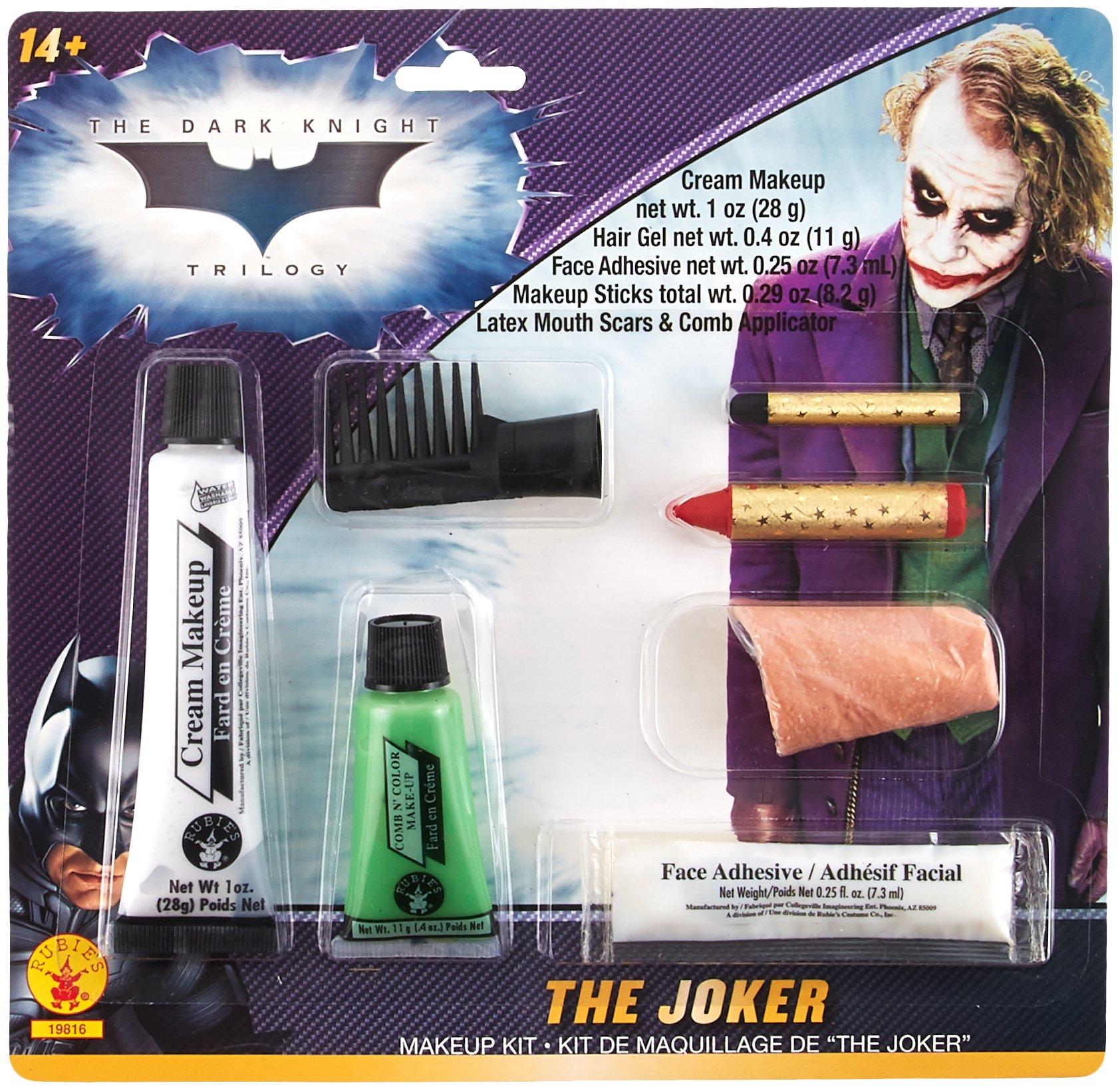 Rubie's Batman The Dark Knight Joker Deluxe Makeup Kit