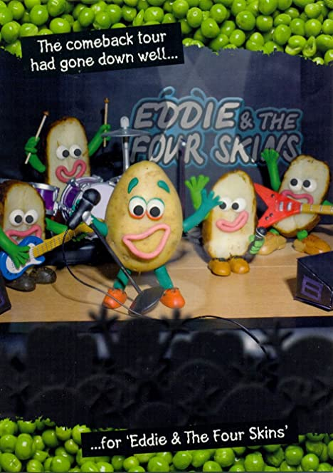 Eddie And The Four Skins Violent Veg Birthday Card Amazoncouk – Violent Veg Birthday Cards