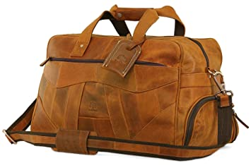 0367757bc054 Image Unavailable. Image not available for. Color  Leather Duffel Bag For  Men