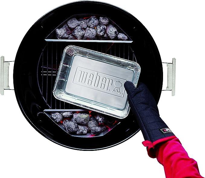 Weber 6415 Petite Barquette en Aluminium