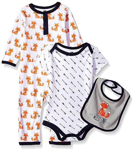 2d45fcea3 Amazon.com  Hudson Baby Baby Boys  Multi Piece Clothing Set  Clothing