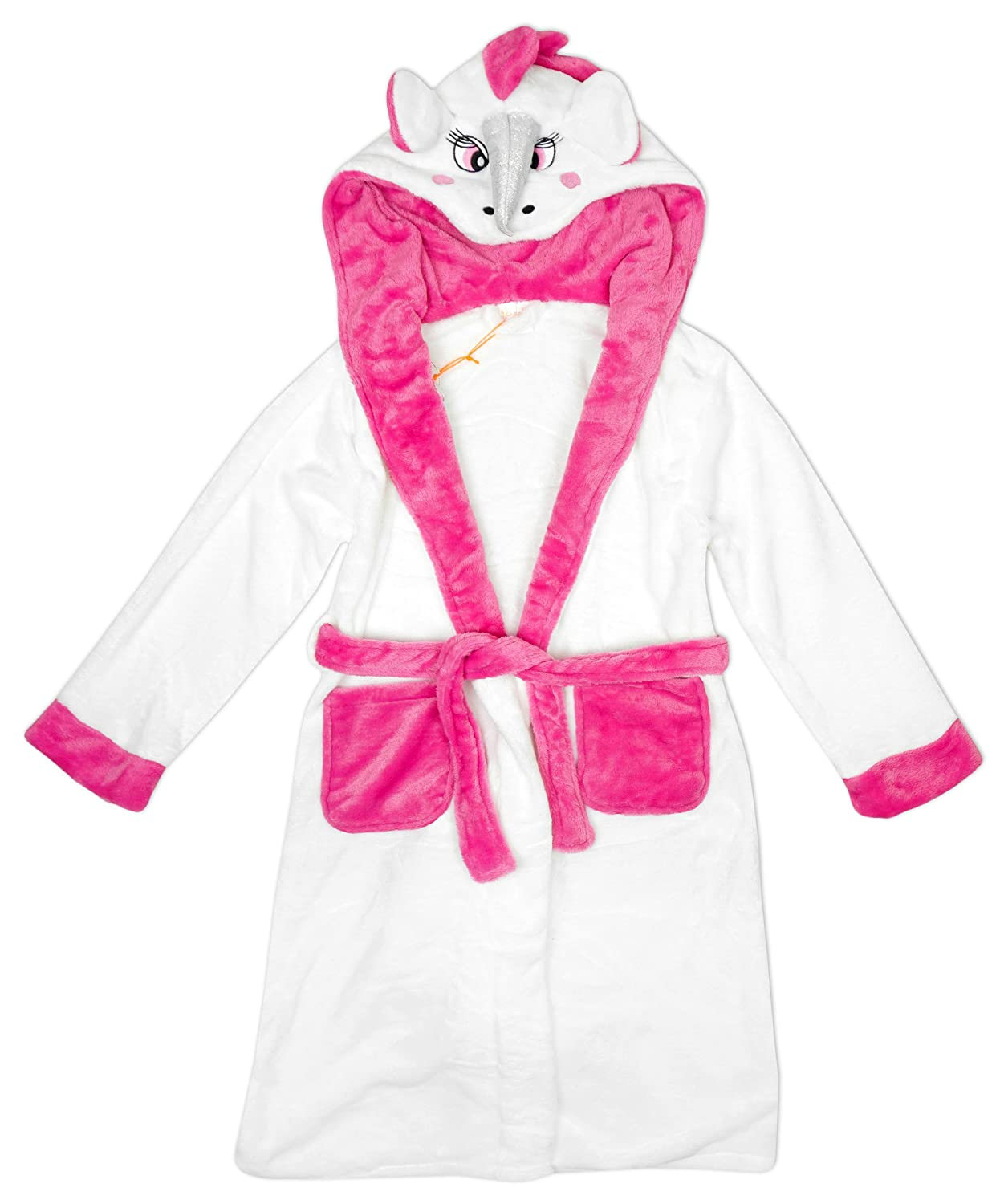 Girls Bath Robe: Amazon.co.uk: Clothing