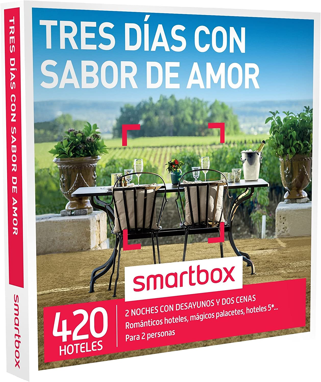 Smartbox Tres días con Sabor de Amor Caja Regalo, Adultos Unisex ...