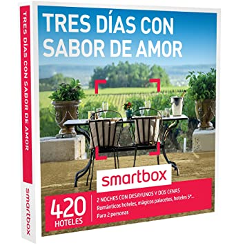 Smartbox - Caja Regalo Tres dias con Sabor de Amor