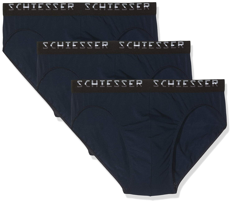 Wählen Sie für echte erstklassig damen Schiesser Herren Slips Rio-Slip Multipack Unterwäsche ...