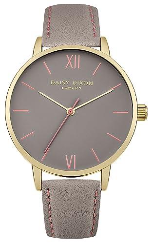 Daisy Dixon Women s Analogue Quartz Watch with Leather Strap DD029EG   Amazon.co.uk  Watches 9ce0ace396f7