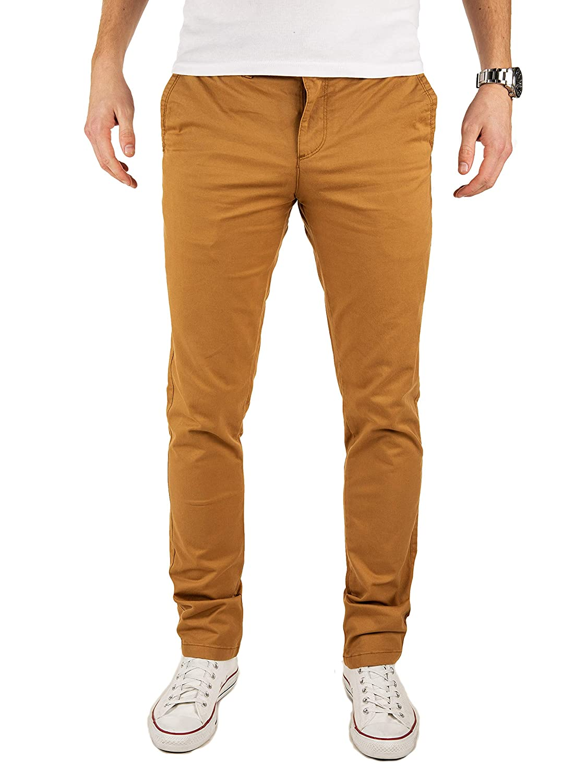 TALLA 30W / 32L. Yazubi Chinos Pantalones Slim Fit - Dustin - para Hombre