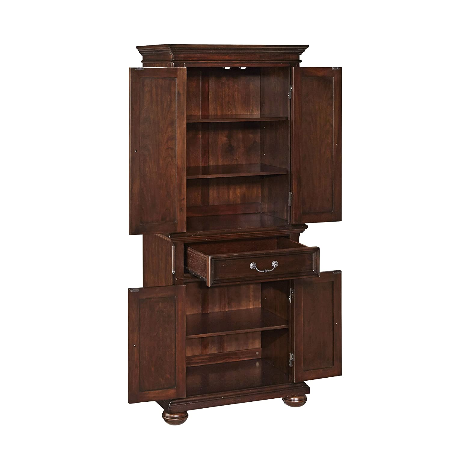 Amazon.com: Home Styles Colonial Classic Pantry Cabinet: Kitchen U0026 Dining