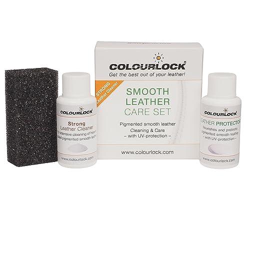 1 opinioni per COLOURLOCK- Kit per la pulizia e la cura della pelle, per uso su parti interne