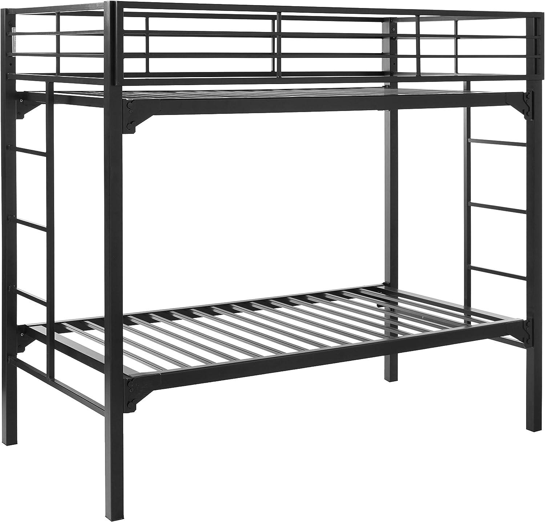 Blantex Heavy Duty 30 Wide Institutional Bunk Bed with 4 Foam Mats