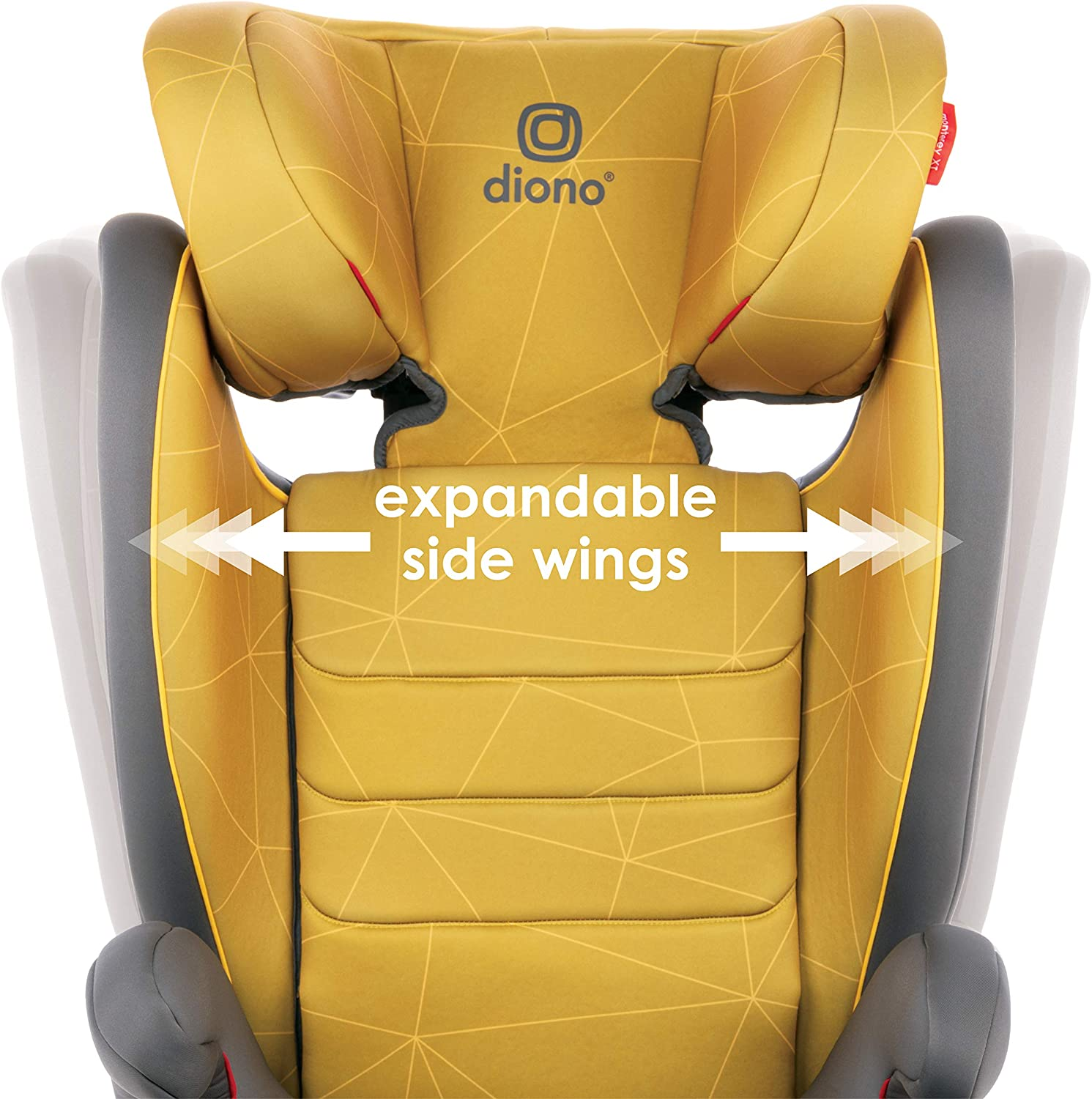 Group 2//3 Expandable Highback Booster Diono Monterey 2 CXT Fix Plum