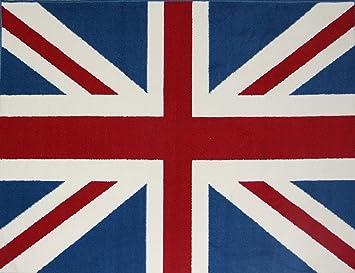 Mondial Tapis Poukbleu 080 Tapis Anglais Avec Drapeau Union Jack