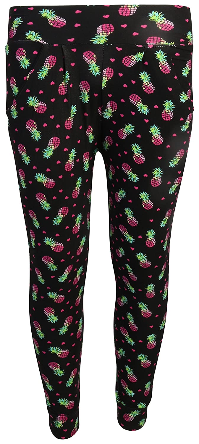 4 Pack Size 2T/' Real Love Girls Printed Yummy Jogger Pants