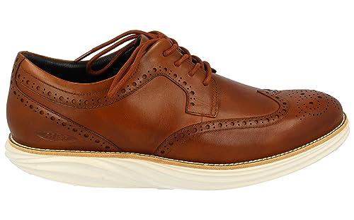 MBT Boston WT M, Zapatos de Cordones Oxford para Hombre, Marrón (23N)