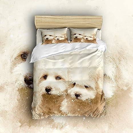 Arte color ilustración serie Animal Perro de cama colcha, diseño de resistente a las arrugas