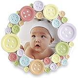Kate Aspen Round Photo Frame, Cute as a Button
