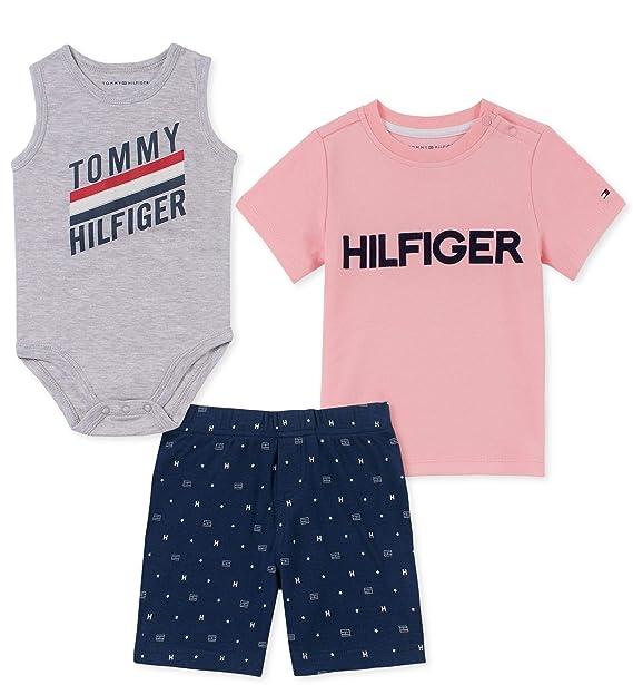 Amazon.com: Tommy Hilfiger - Juego de 3 pantalones cortos ...