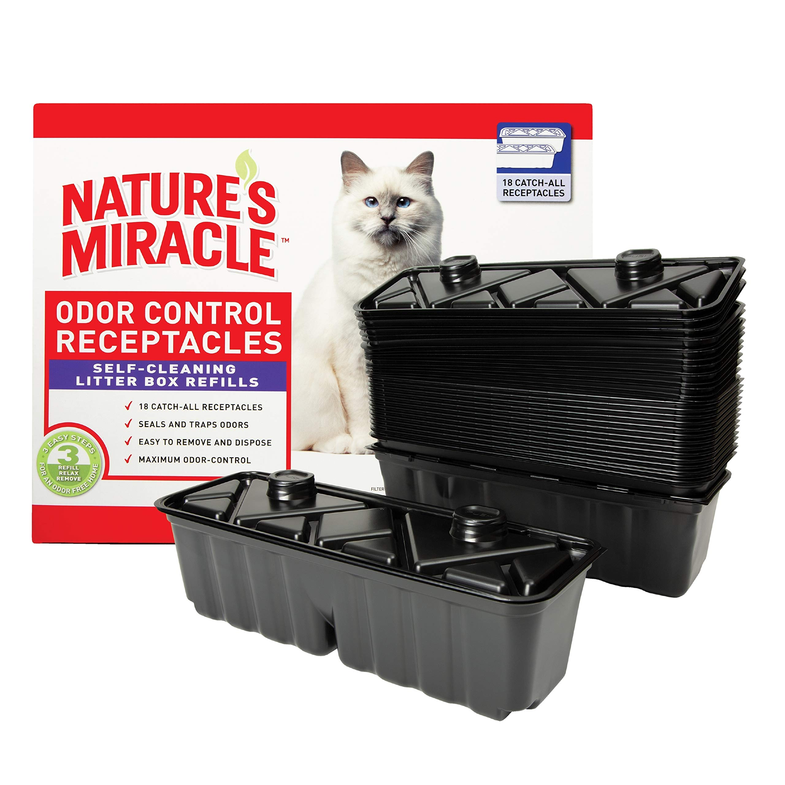 Nature's Miracle NMR300 Waste Receptacles (18 Pack) by Nature's Miracle