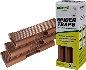 3-Pack Rescue Spider Traps
