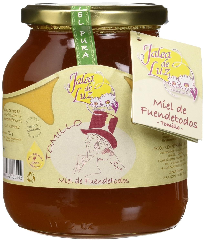 Jalea de Luz Miel Cruda Pura de Tomillo - 950 gr.