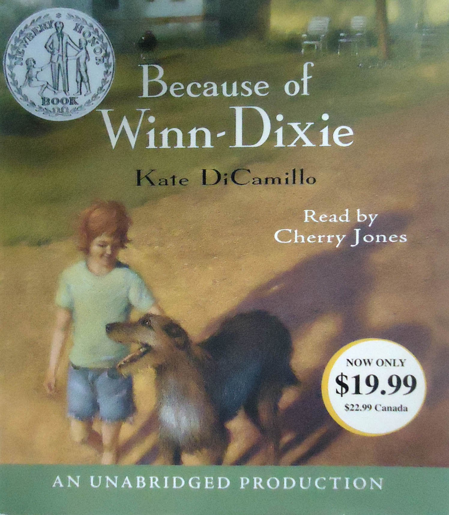 Review of winn dixie free appliances - Because Of Winn Dixie Kate Dicamillo Cherry Jones 9781400091492 Amazon Com Books