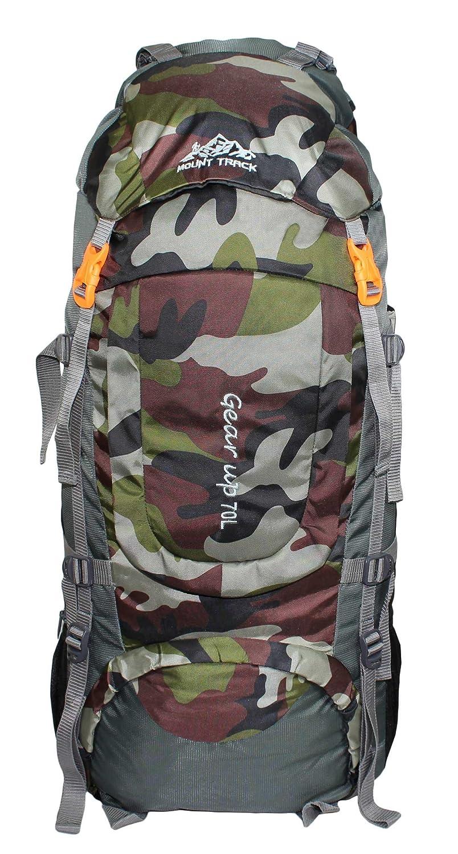Super süße offizieller Verkauf Kundschaft zuerst Mount Track Gear Up Rucksack, Hiking & Trekking Backpack 70 Ltrs with Rain  Cover and Front Opening