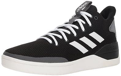 finest selection dc05b f52c7 adidas Mens BBALL80S Sneaker BlackWhiteGrey 6.5 ...
