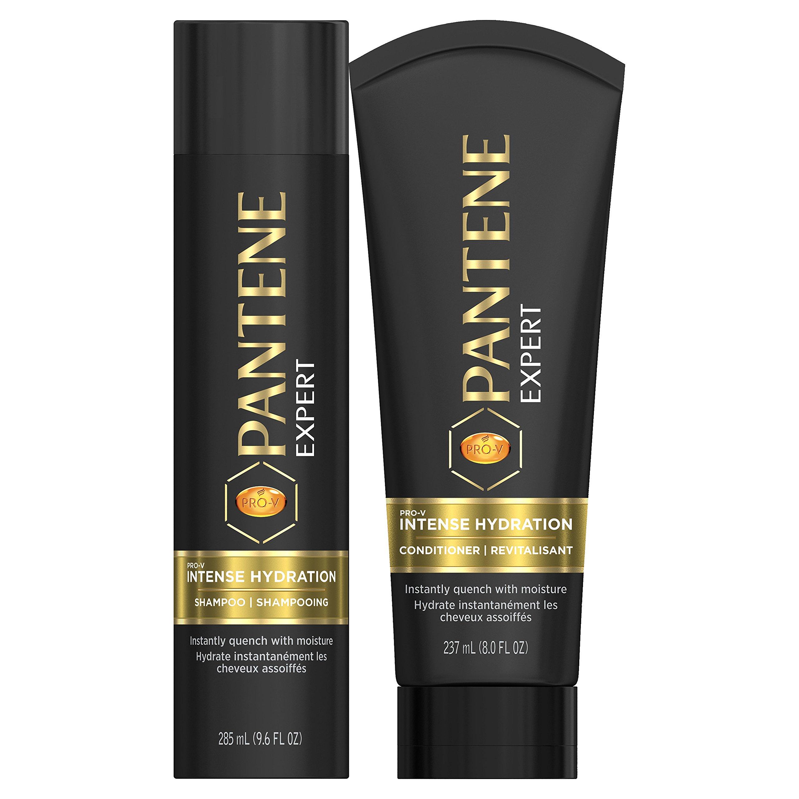 Pantene Expert Pro-V Intense Hydration Shampoo 9.6 fl oz and Conditioner 8.0 fl oz Set