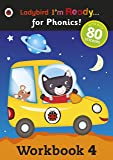 Workbook 4: Ladybird I'm Ready for Phonics (Im Ready for Phonics Level 04)