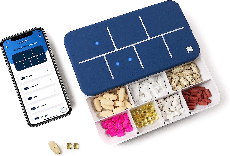 Pastillero automático inteligente EllieGrid, app incluida
