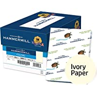 Hammermill Paper, Colors Ivory, 20lb, 8.5 x 14, Legal, 5000 Sheets/10 Ream Case (103143C), Made In The USA