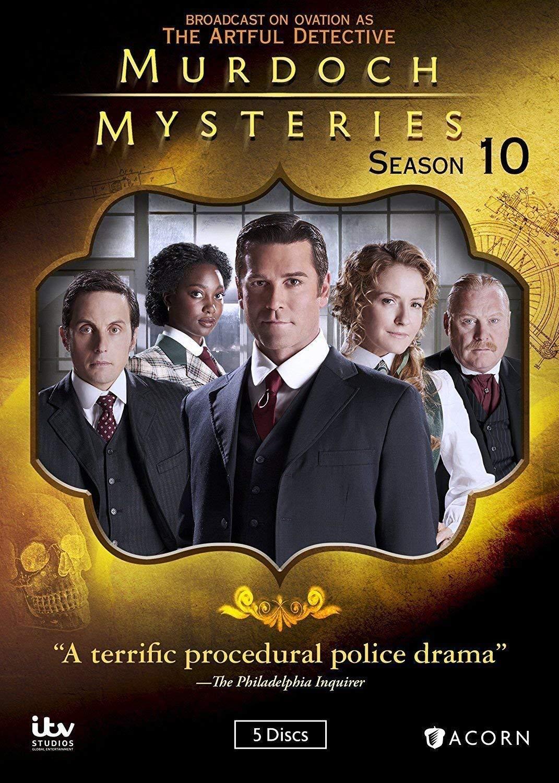 Artful Detective Christmas Special 2021 Murdoch Mysteries Tenth Season 10 Amazon In Electronics