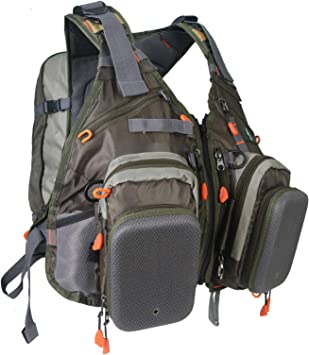 Maxcatch [Holiday Venta] Volar Pesca Chaleco Pack Bolsa de Bandolera (– Chaleco de Pesca/Pesca/Pesca Mochila), Backpack(Backpack Style): Amazon.es: Deportes y aire libre