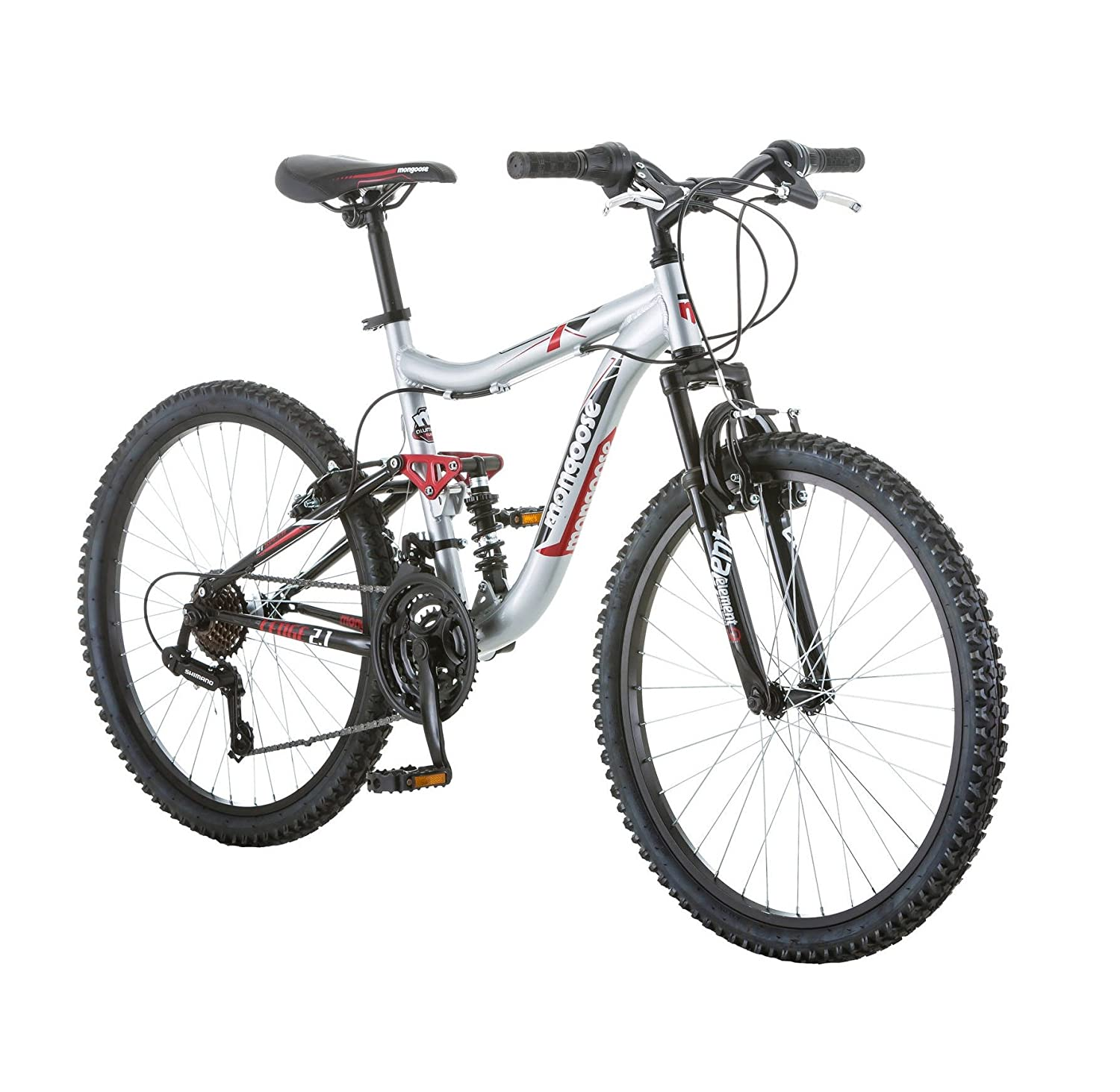 "24"" Mongoose Ledge 2.1 Boys' Mountain Bike"