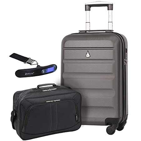 Large Capacity Maximum Allowance 22x14x9 Built-in TSA Airline Approved  Delta United Southwest Carry On Luggage Trolley Rolling Suitcase Body Size