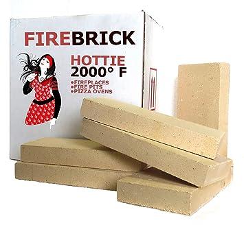 Ladrillo Kit de 6 recambios para estufas, Fire pozos y Pizza hornos: Amazon.es: Bricolaje y herramientas