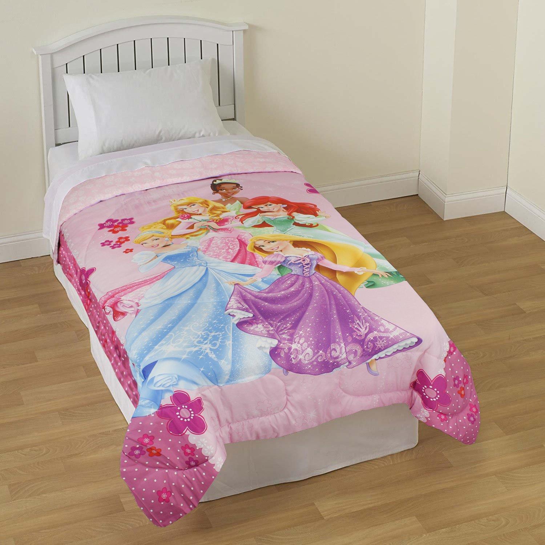 Amazoncom Disney Princess Palace Pets Twin Size Reversible Comforter Home