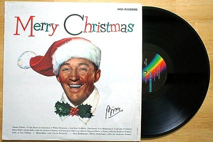 bing crosby merry christmas vinyl
