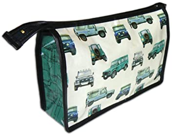 8a23df0958a6 Land Rover Defender inspired toiletry wash bag  Amazon.co.uk  Office ...