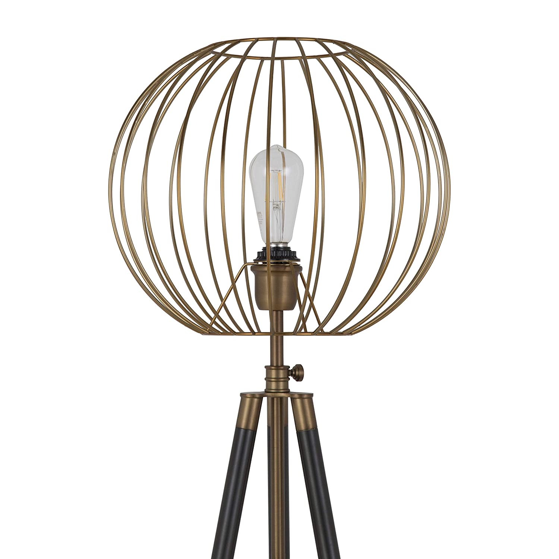 Henn/&Hart FL0018 Globe cage Lamp One Size Gold
