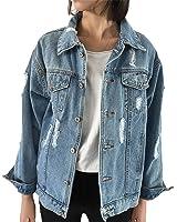 Henraly Women Denim Coats Loose Long Sleeved Female Jacket Large Size Chaquetas Mujer