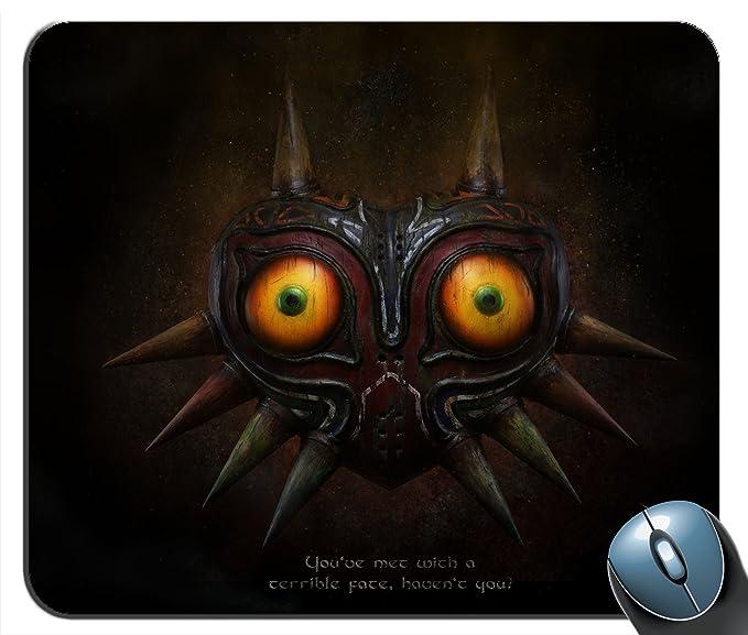 The Legend Of Zelda majora - máscara V2 - cojín de ratón de encargo: Amazon.es: Oficina y papelería